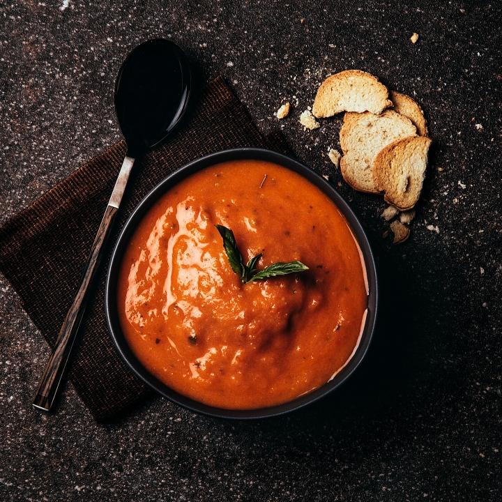 Sopa de tomatevegana